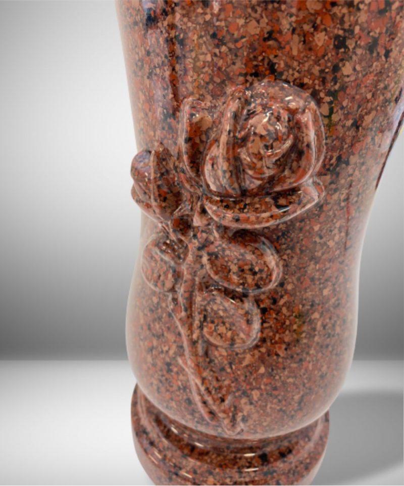 Vaza kapams raudona roze W-10RR_2
