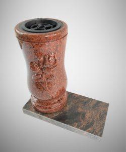 Vaza kapams raudona roze W-10RR_8