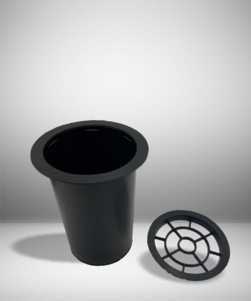 Plastikinis kapų vazos įdėklas