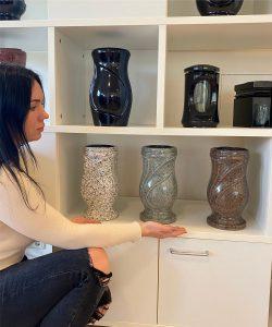 Vazos kapams spalvotos