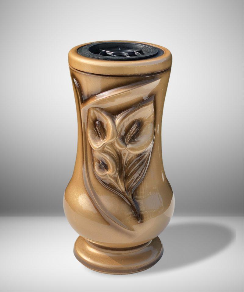 Vaza kapams kalija auksinė 1